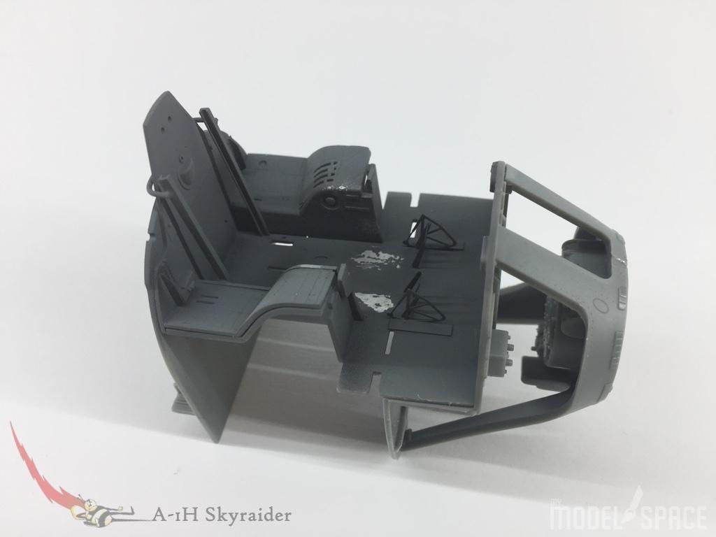 Cockpit::Erste Alterungsspuren sind angebracht