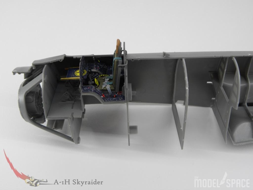 Cockpit::Das Cockpit ist eingebaut.::